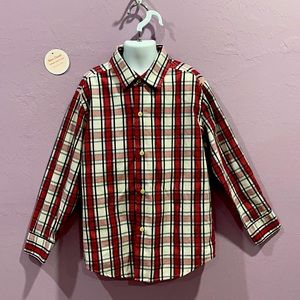 Izod Dress Button Down Shirt Size 8